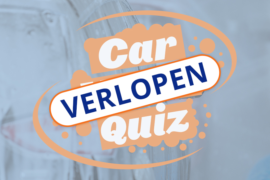 Carwash Quiz winnaar!